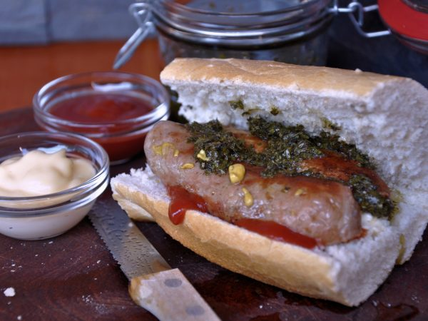 Bread, sausage and added flavor – The good shizzle!